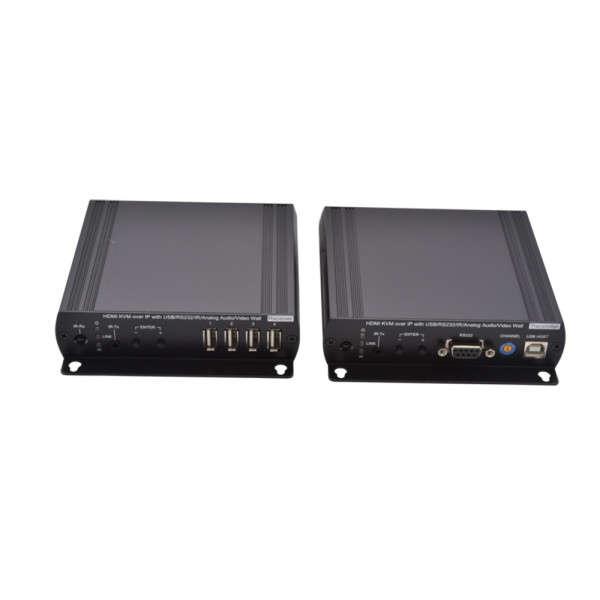 KIT PROLONGATEUR HDMI-USB2-AUDIO-IR SUR UN UTP, CAT5/150M, CAT6/180M