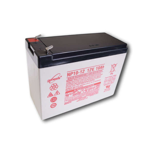 BATTERIE 12 VOLTS 10 AH DIM : L151 X H65 X L109 MM