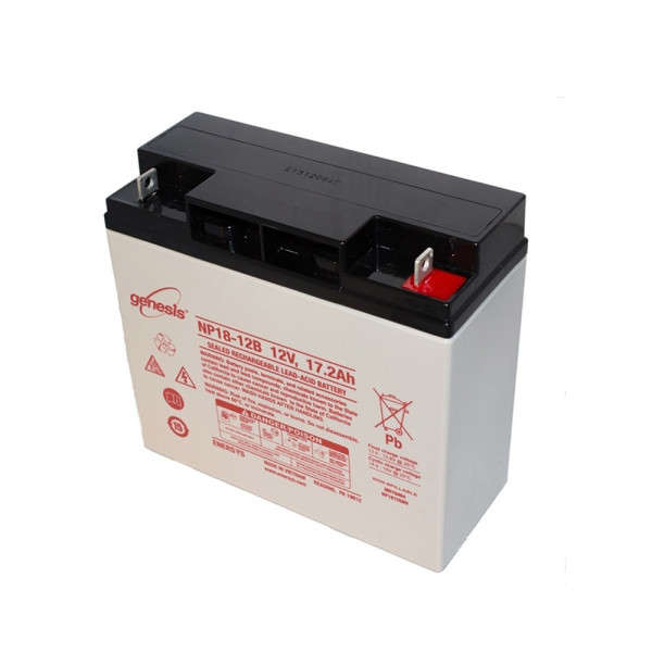 BATTERIE 12 VOLTS 18 AH DIM : L182 X H168 X B77 MM