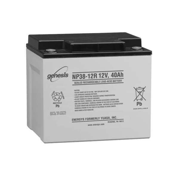 BATTERIE 12 VOLTS 38 AH DIM : L166 X H126 X L175 MM
