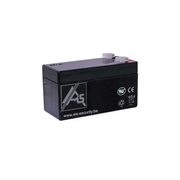 BATTERIE 12 VOLTS 1.2 AH DIM : L97 X H52+6 X B43 MM