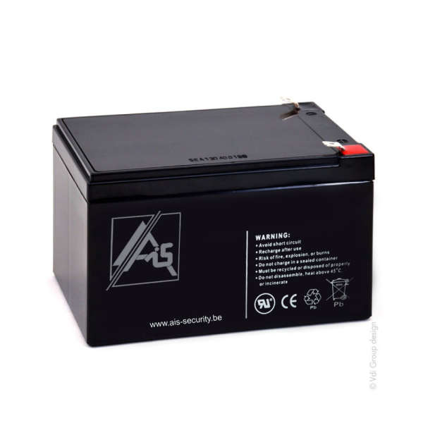 BATTERIE 12 VOLTS 12 AH DIM : L151 X H85+6 X L98 MM