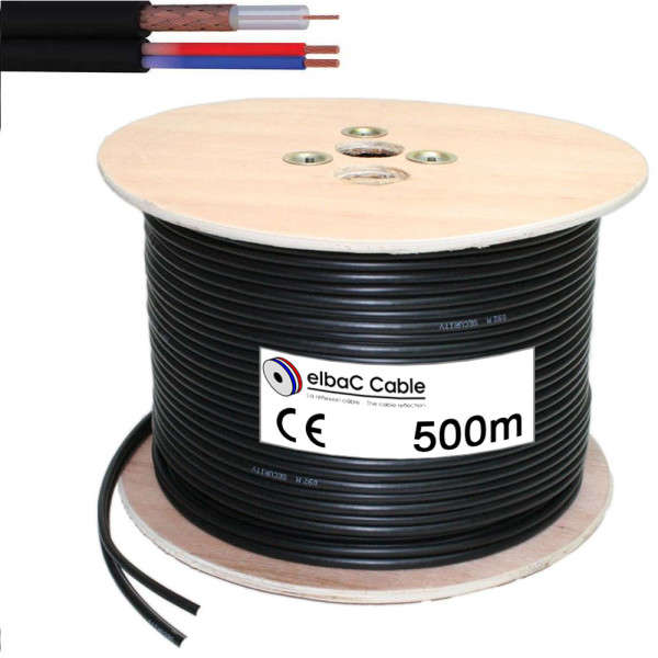 CABLE COAX HD, 80M HD-SDI, 150M ANALOGUE-HDTVI, DRUM