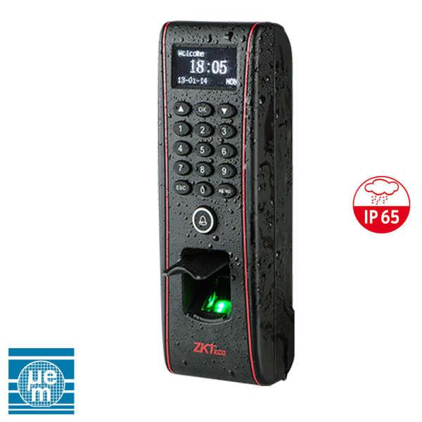 CONTROLE D'ACCES BIOMETRIQUE +CLAVIER AUTONOME, 1 PORTE, IP-RS485-USB