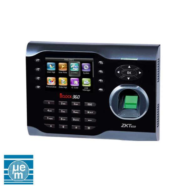 POINTEUSE GESTION DE TEMPS RFID +EMPREINTES, LCD 3.5