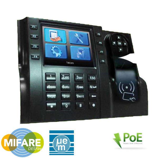 POINTEUSE GESTION DE TEMPS RFID, LCD 3.5