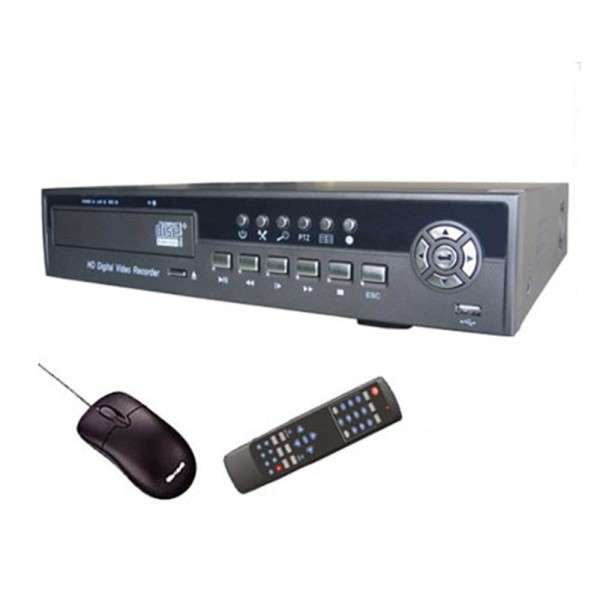 DVR 16 CH,400FPS/CIF,H264,500GB,3G MOBILE,8IN/1OUT,4AUDIO IN/1OUT