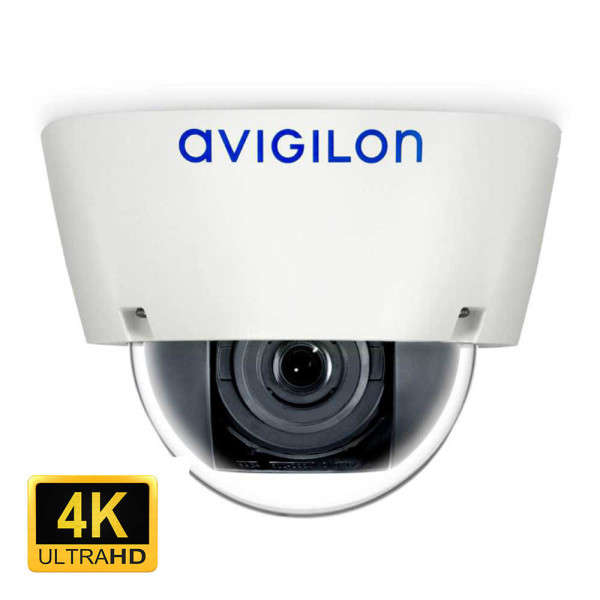 4K UHD (8 MP), D/N, INDOOR, 4.3-8MM, ICR, VIDEO ANALYTICS, IK10
