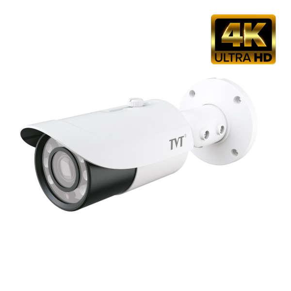 CAMERA D/N WP HD-TVI/AHD/CVI/CVBS, 8MP, 3.3-12MM, TRUE WDR, 12V, IR50M