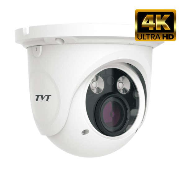 DOME D/N WP HD-TVI/AHD/CVI/CVBS, 8MP, 3.3-12MM, TRUE WDR, 12V, IR50M