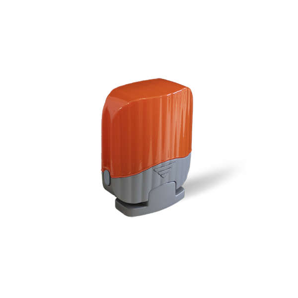 LAMPE CLIGNOTANTE, ORANGE, A LED, 24VAC/DC-230VAC