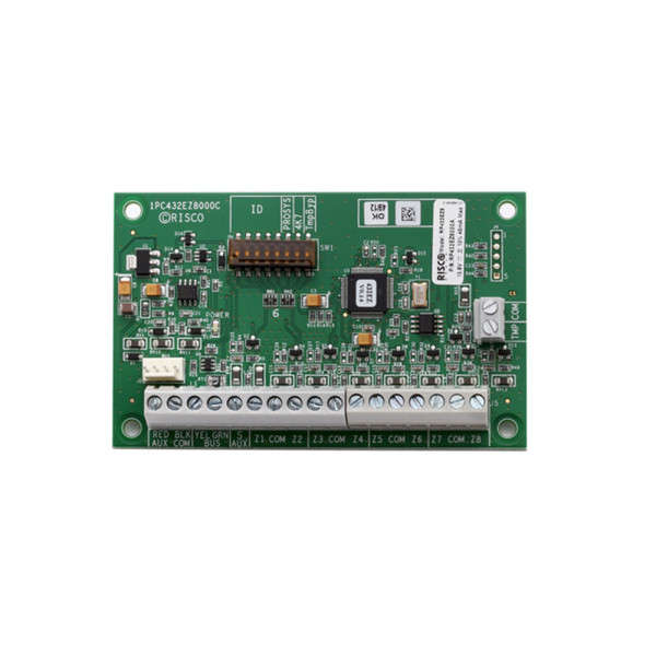 EXTENSION 8 ZONES PCB, POUR LIGHTSYS & PROSYS PLUS