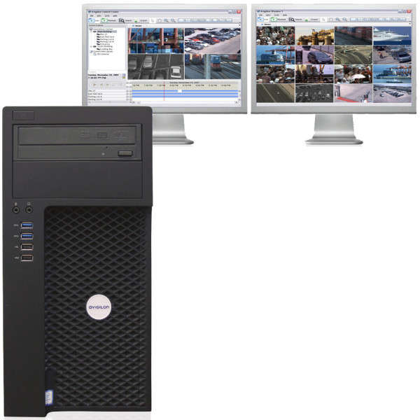 WORKSTATION SUPERVISION - 2 ECRANS HD MAX (1X DISPLAY PORT+1X DVI-I)