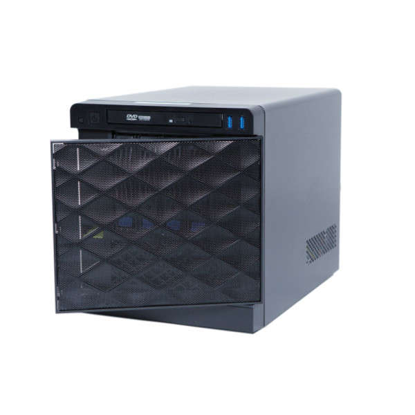 HD NVR-SM QUBE WORKSTATION 4TB+SSD OS,150MBPS, DUAL 1GBE, 2 X HD MONITOR