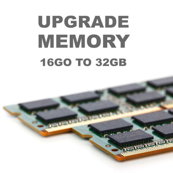 UPGRADE H SERIES SERVERS FROM 16GB TO 32GB