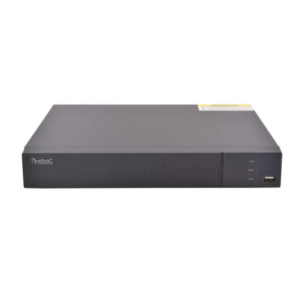 NVR IP 8CH +AUDIO,8MP@25FPS,8POE,2 SATA,NO HDD,HDMI 4K