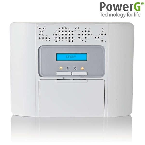 POWER MASTER 30, 62 ZONES WL, CENTRALE SEULE +BATT. NL