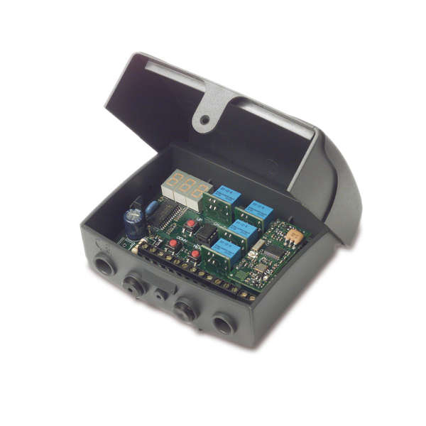 RECEPT.S449 FM 1-4 CANAUX DISPLAY,433 MHZ,1000 UTIL.4 CANAUX+1 SP1/NO