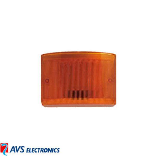 PLEXI ORANGE POUR TS85 LED+ ET CITY LED+