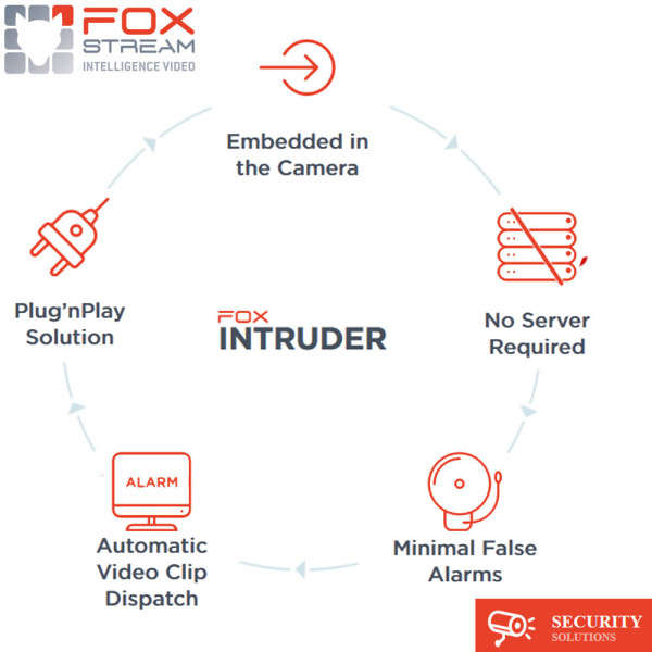 LICENCE FOX-INTRUDER, 1CH, POUR CAMERAS AXIS