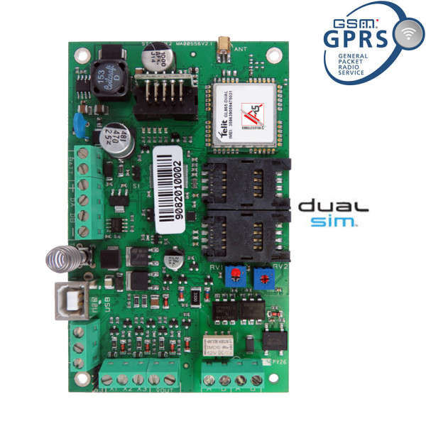 MODULE GSM-GPRS POUR XTREAM & CAPTURE SMS, VOCAL, DIGITAL, APP. MOBILE