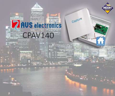 CAPTURE 8-32 ZONES, 3-32 OUT, 8 GRP, 128 CODES, METAL BOX 7AH, 1.2A, FR