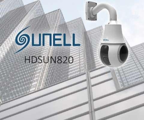 DOME MINI PTZ HD-AHD, 1080P, ICR, 12VDC, IP66, COC, AVEC MONTAGE MURAL