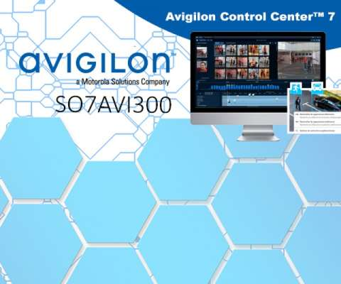SOFTWARE AVIGILON V7 CORE 1 CAM / 2 VIEWER INCL.