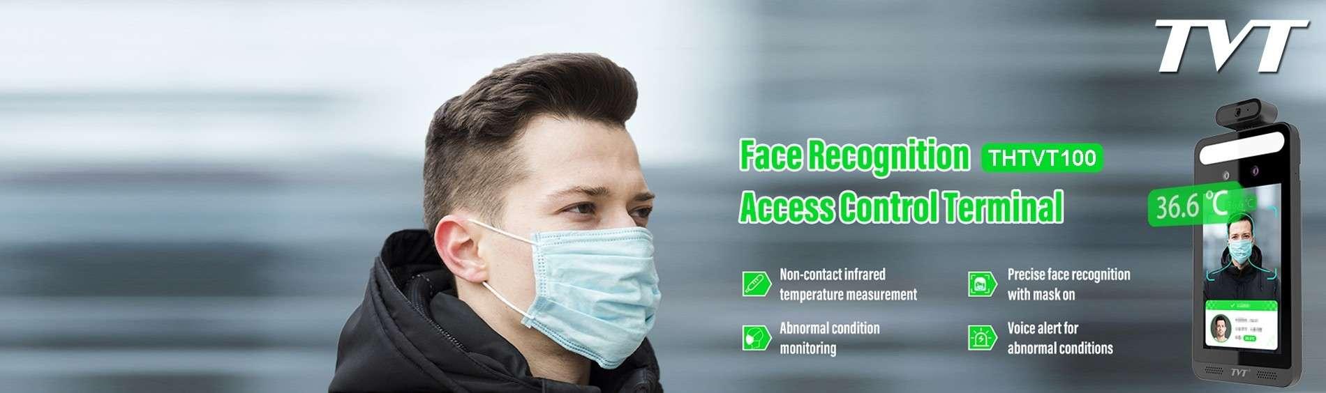 Reconnaissance faciale, détection de masque, mesure de la température, ...