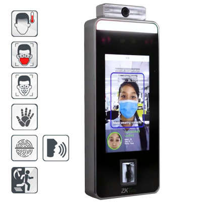 SPEEDFACE-V5L-TD : FACE & PALM VERIFICATION AND BODY TEMPERATURE DETECTION TERMI
