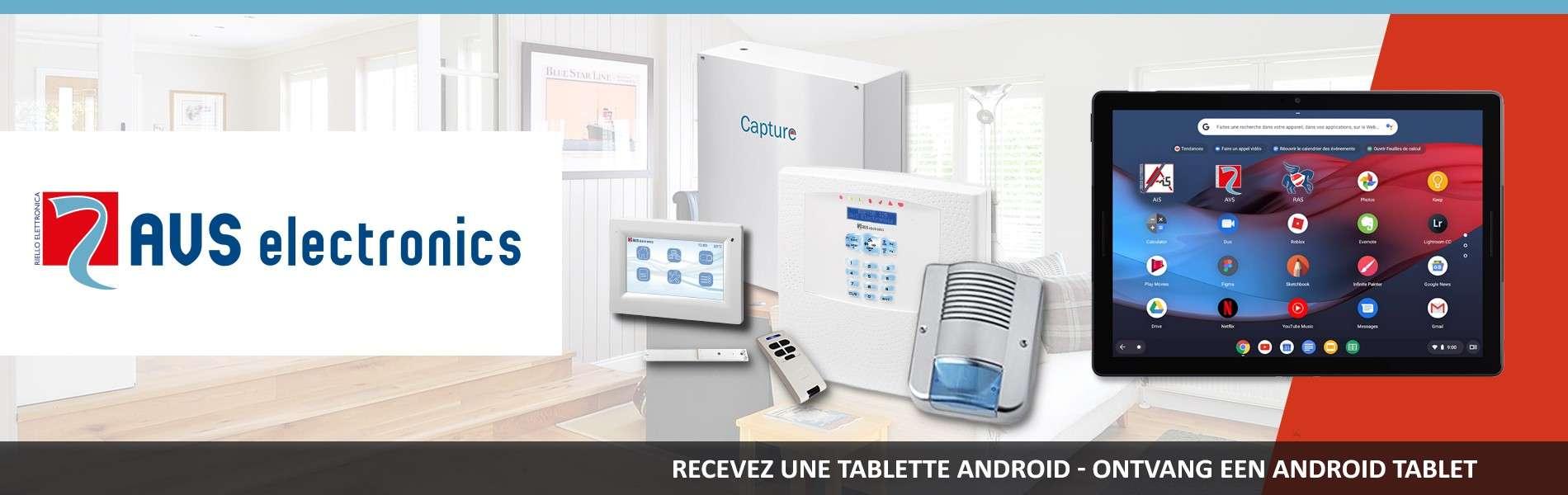 AVS ELECTRONICS : RECEVEZ UNE TABLETTE GRATUITEMENT