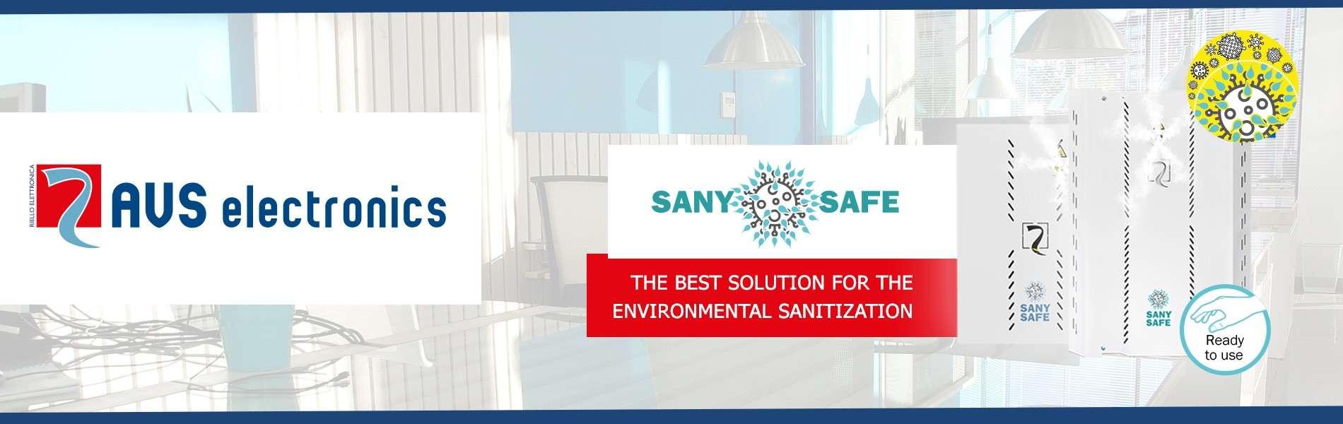 SANY SAFE: assainissez votre environnement!