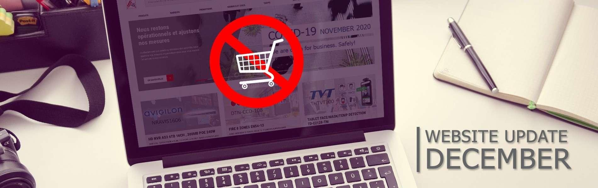 Changements importants sur notre site web ais-security.be