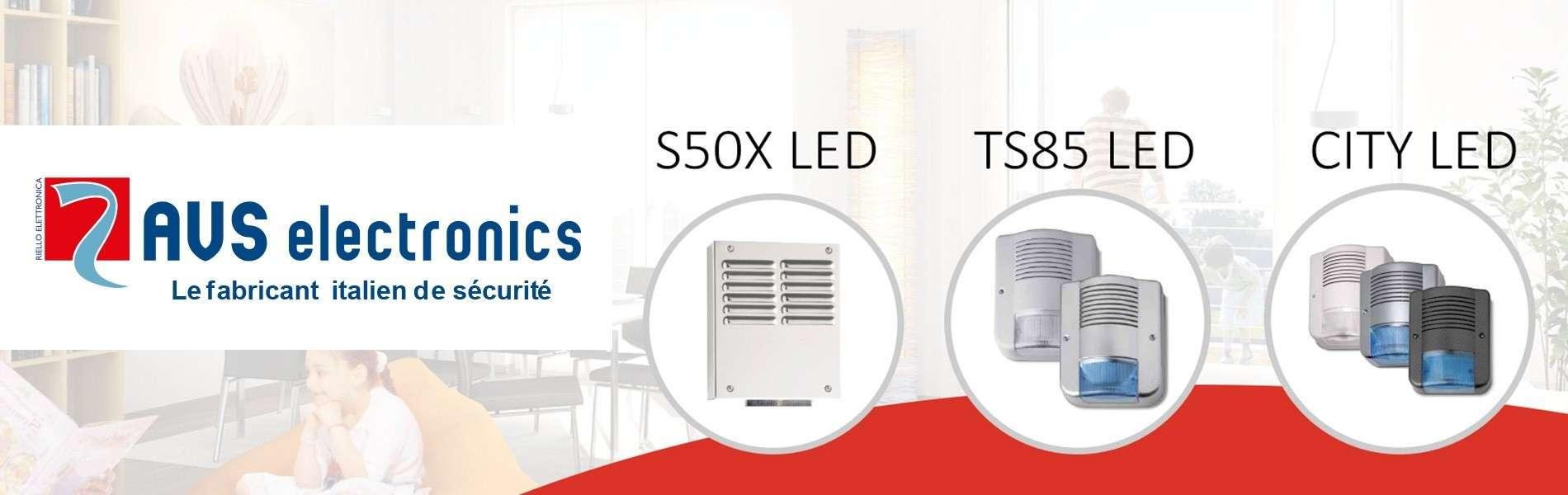 AVS Electronics - Découvrez nos nouvelles sirènes.