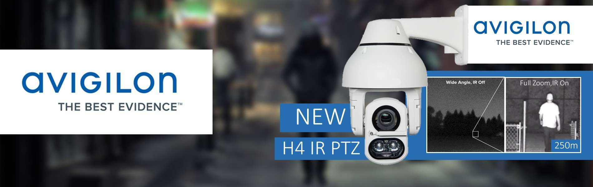 Avigilon lance la nouvelle ligne de caméra PTZ H4 IR