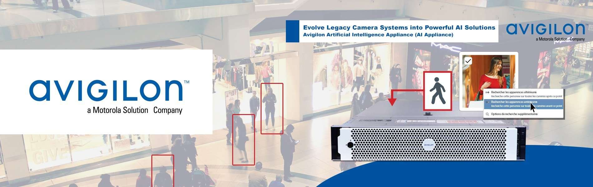 Dispositif AI Appliance d'Avigilon