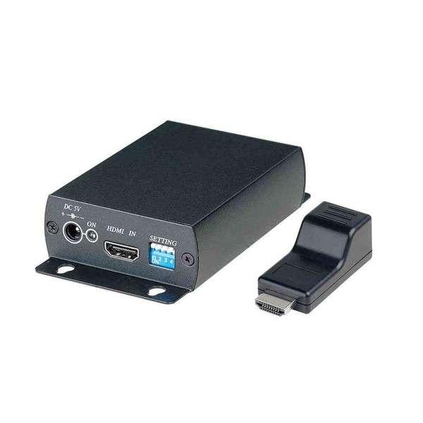 PROLONGATEUR HDMI SUR 1X UTP CAT5, 50M 1080P, 70M 1080I