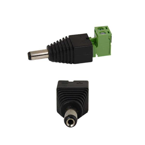 CABLE CONNECTEUR MALE POUR ALIMENTATION CAMERA
