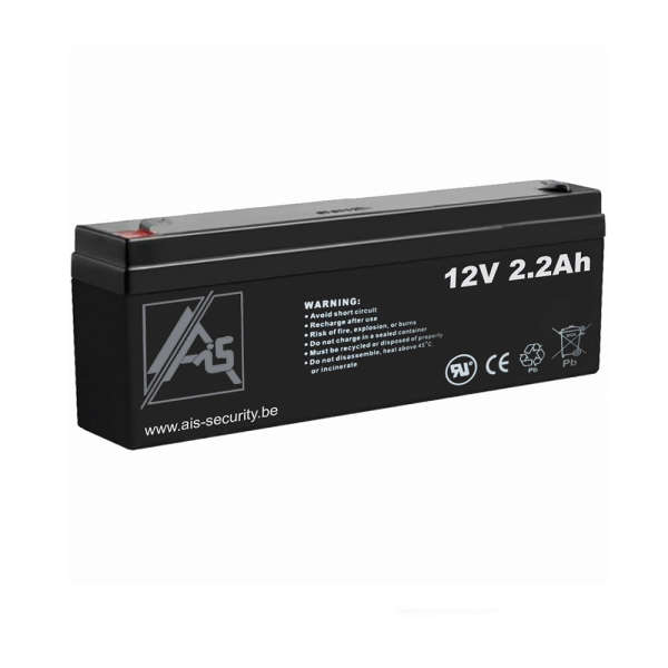 BATTERIE 12 VOLTS 2.2 AH DIM : L178 X H60 X L34 MM