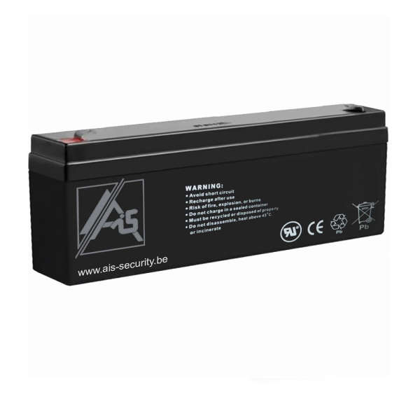 BATTERIE 12 VOLTS 2.3 AH DIM : L178 X H60+6 X L35 MM