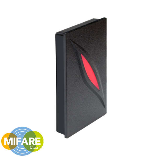 LECTEUR DE PROXIMITE, MIFARE, WIEGAND, 116 X 75 X 17.3MM, IP65