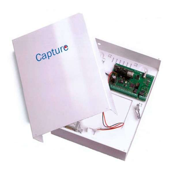 CAPTURE 8-16 ZONES, 3-16 OUT, 4 GRP, 64 CODES, METAL BOX 17AH, 1.6A, FR