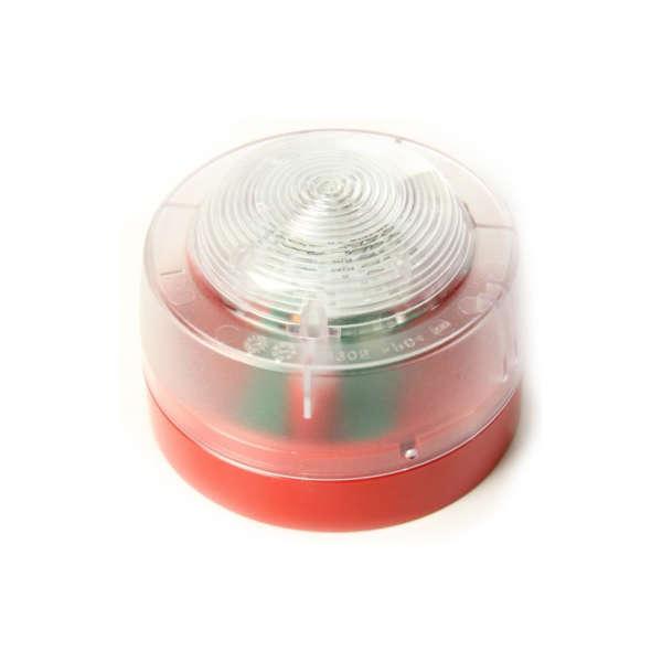 FLASH LED ROUGE, 12-29VDC, EN54-23