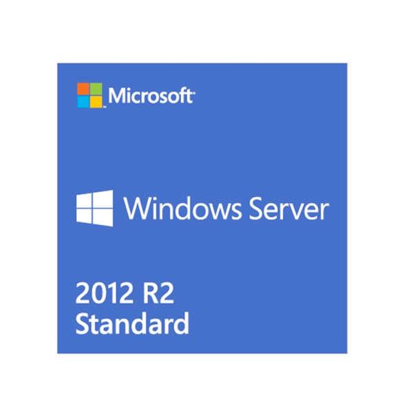 WINDOWS®SERVER STANDARD 2012R2 SNGL OLP 1LICENSE NOLEVEL 2PROC