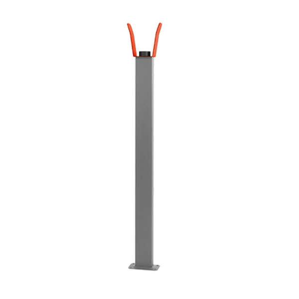 SUPPORT MOBILE A FIXER SUR LA LISSE POUR BARRIERES  (HAUTEUR 1200MM)