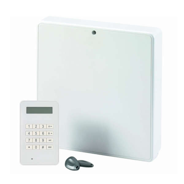 FLEX 12-52 ZONES, 3-31 OUT,100 USER, 8GRP +TELECOM +KEYPROX MK8 2A/17AH