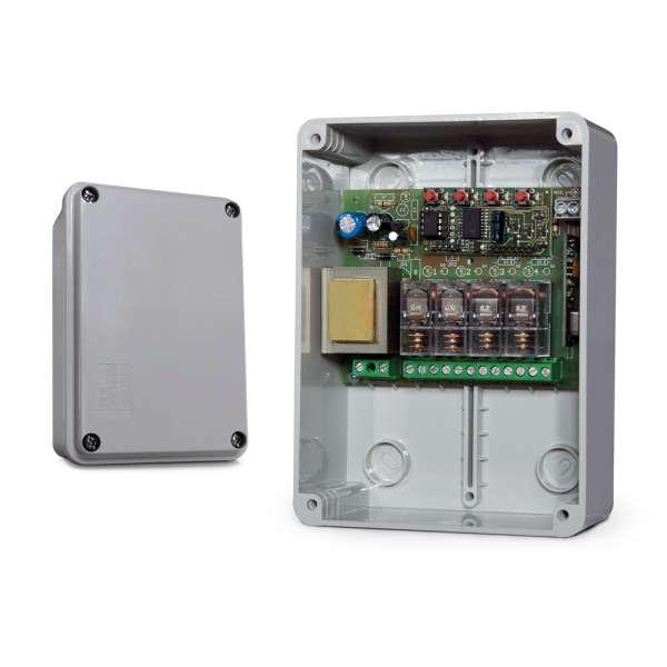 RECEPTEUR FM400 4 SORTIES 230VAC, 5A MAX, IP55