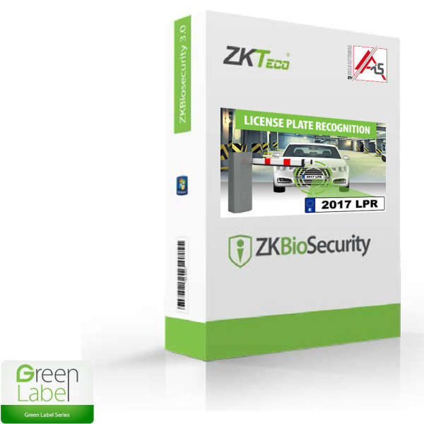LICENCE GESTION PARKING, POUR ZKBIOSECURITY, 2 CAM, 10.000 USERS
