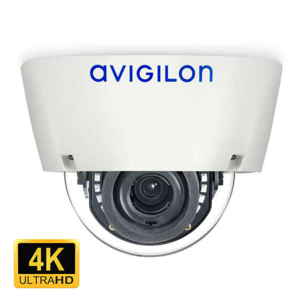 4K UHD (8 MP), D/N IR, INDOOR, 4.3-8MM, ICR, VIDEO ANALYTICS, IK10