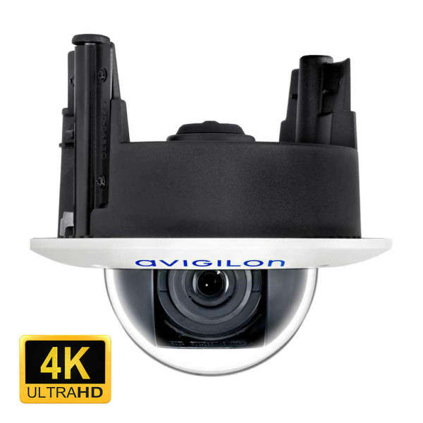 4K UHD (8MP), D/N, CEILING, 4.3-8MM, ICR, VIDEO ANALYTICS, IK10